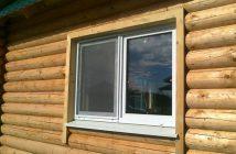 Пластиковое окно в баню: особенности установки