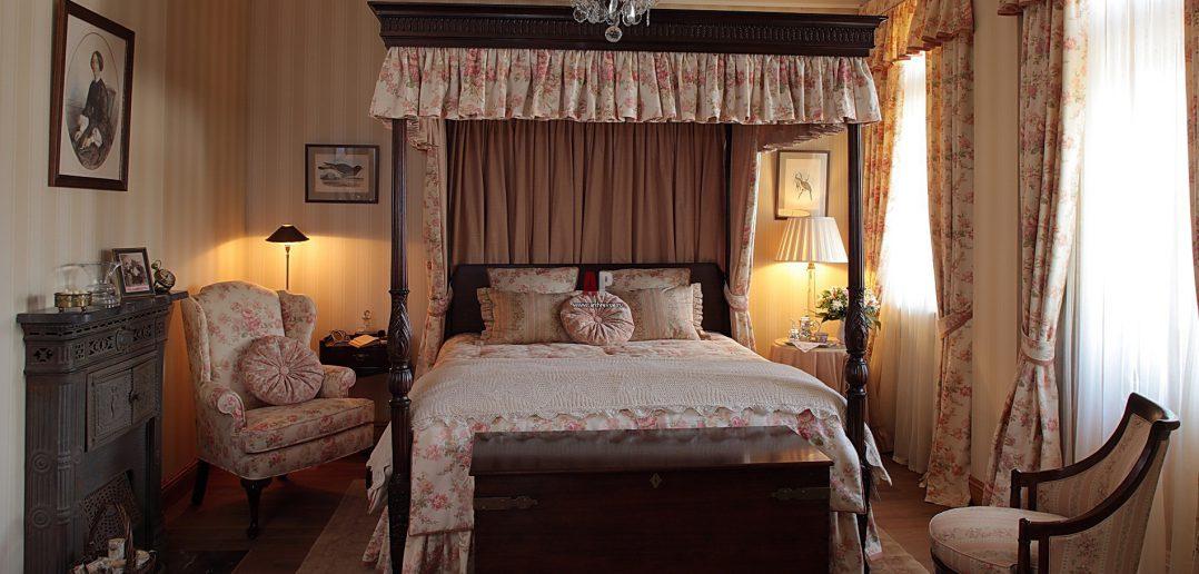 Английский интерьер | Спальня в английском стиле