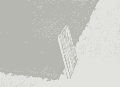 Подклеивание уголка ступени   Ремонт бетона