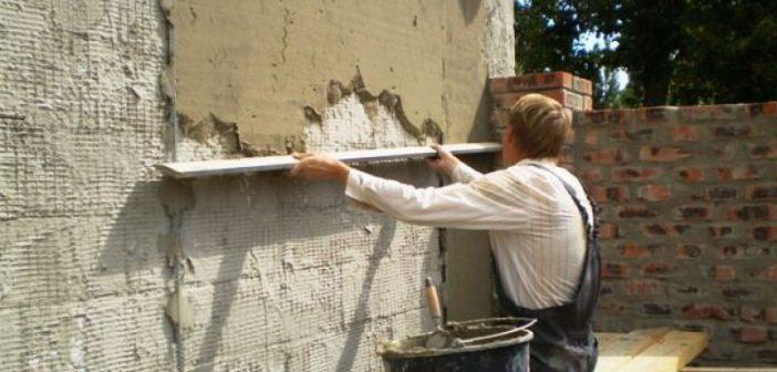 Фасад дома шубой | Подготовка поверхности