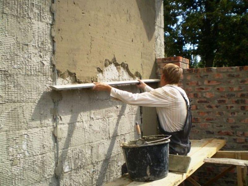 Стена фасада своими руками