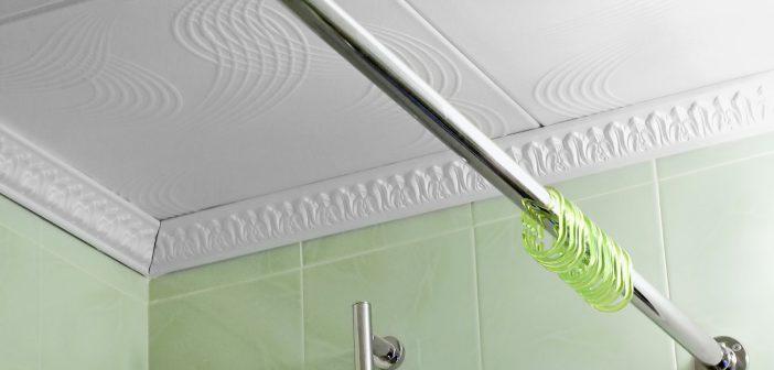 Штанга для шторы в ванную | Материалы, применяемые для изготовления штанг в ванную