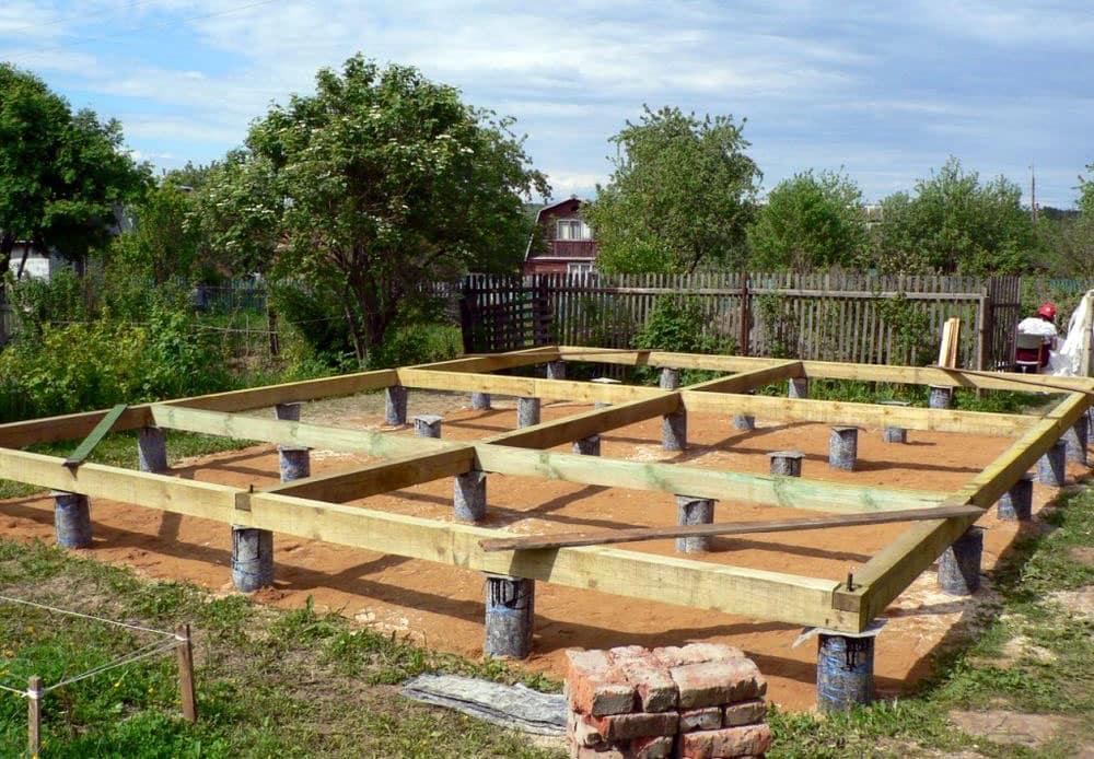 Картинки по запросу Строительство зданий. Столбчатый фундамент при строительстве деревянных домов
