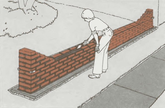Кладка стен из кирпича | Продолжение кирпичной кладки