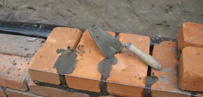 Кладка стен из кирпича | План кладки стены