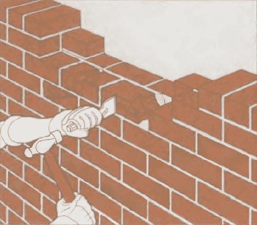 Ремонт кирпичной кладки | Ремонт поврежденной стены