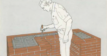 Мангал из кирпича и бетона своими руками