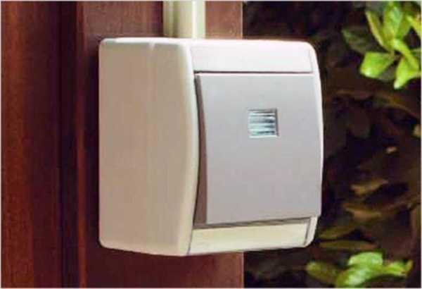 Накладной выключатель | Выбор и установка розеток и выключателей