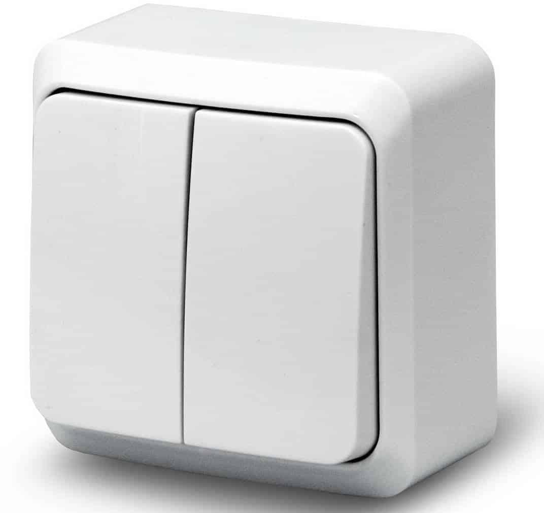 Клавишный выключатель | Выбор и установка розеток и выключателей