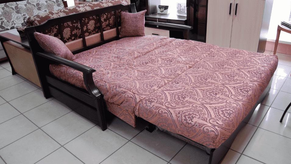 """Как выбрать диван для ежедневного сна   Механизм трансформации """"Аккордеон"""""""
