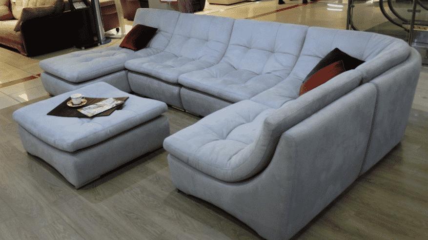 Как выбрать диван для ежедневного сна   Форма дивана   Модульный диван