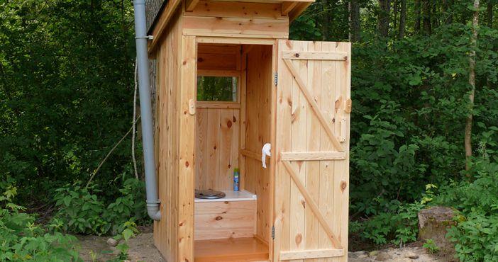 Как быстро построить дачный туалет своими руками
