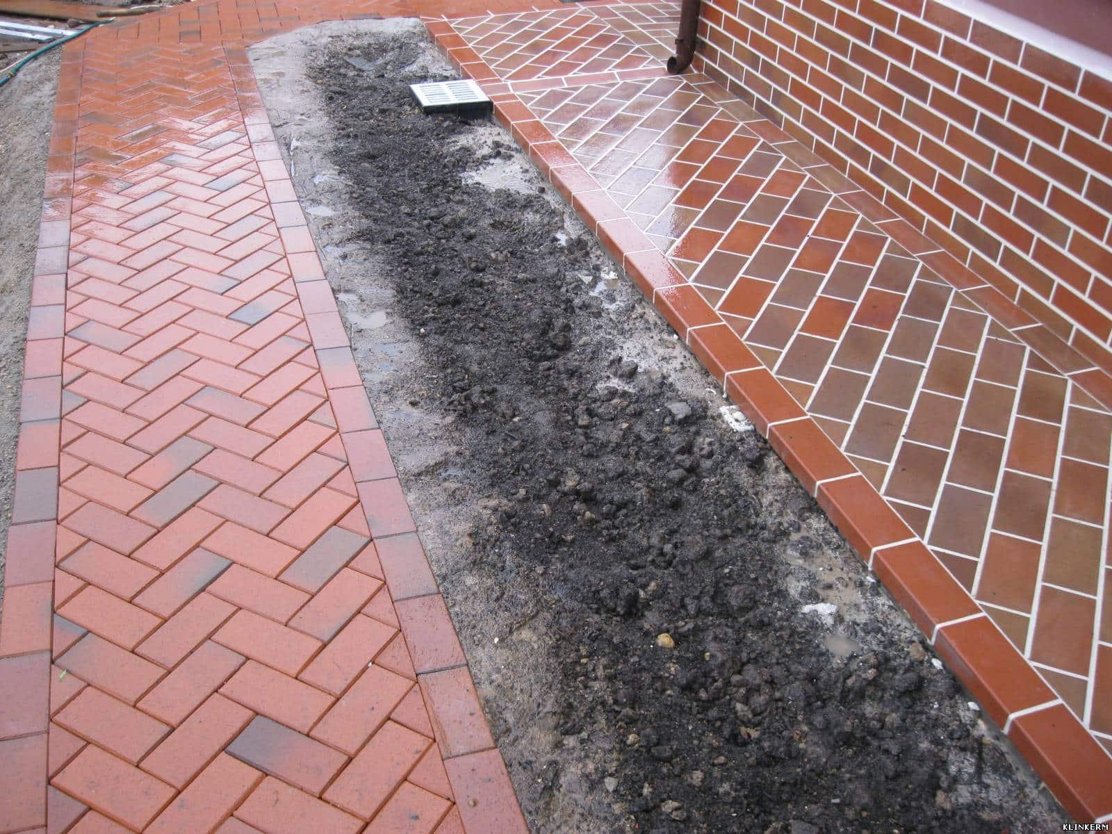 Укладка тротуарной плитки своими руками уклон