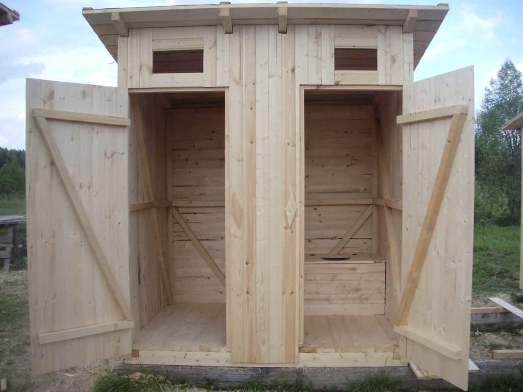 Туалет на даче своими руками | Дверь туалета