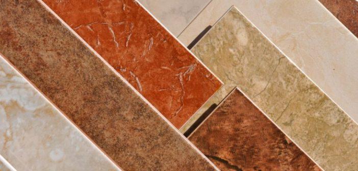 Виды отделочных материалов   Плитка