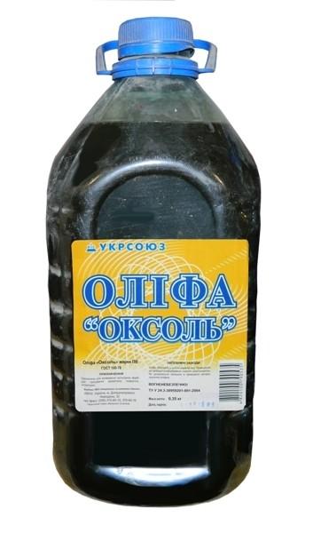 Виды отделочных материалов   Олифа Оксоль