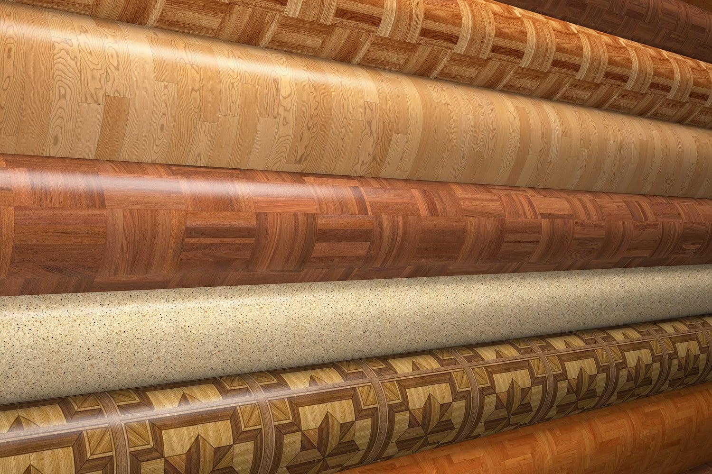 Виды отделочных материалов   Линолеум