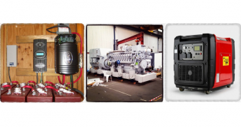Дизельные и бензиновые генераторы, стабилизаторы напряжения