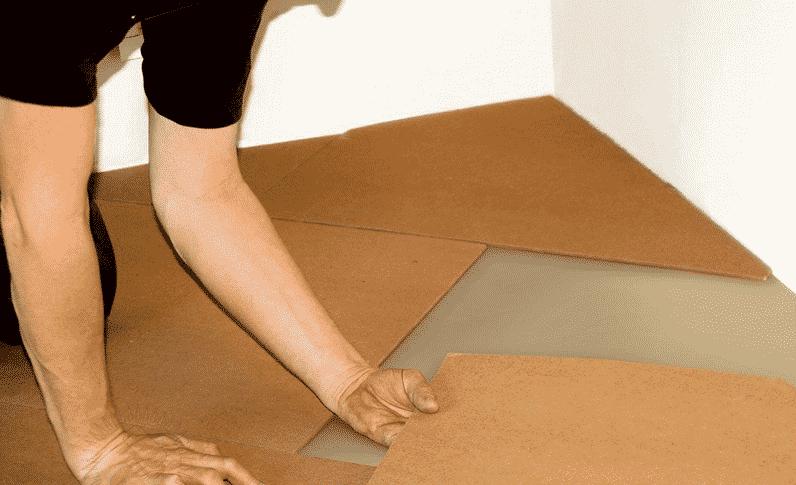 Как и из чего сделать полы в подвале | Укладка ДВП на пол