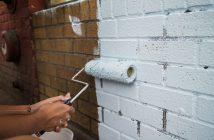 Чем и как покрасить кирпич (кирпичную стену)