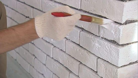 Чем и как покрасить кирпич (кирпичную стену) 5domov.ru - ста.