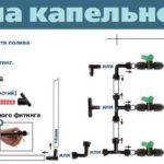 Как сделать капельный полив своими руками   Схема системы капельного полива