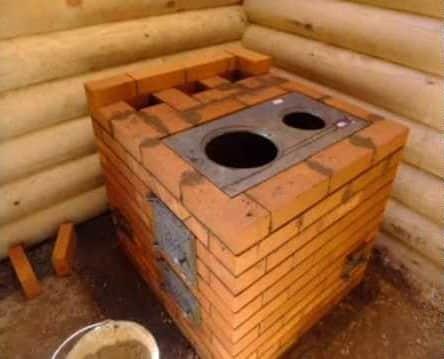Варочная печь из кирпича своими руками - Простая кухонная плита