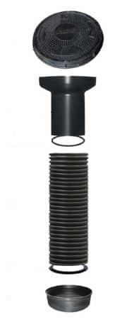 Сборный пластиковый колодец