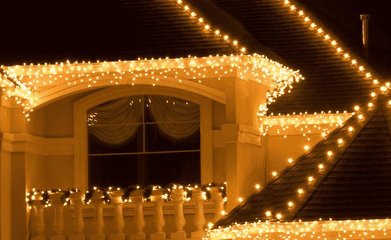 Декоративное уличное освещение
