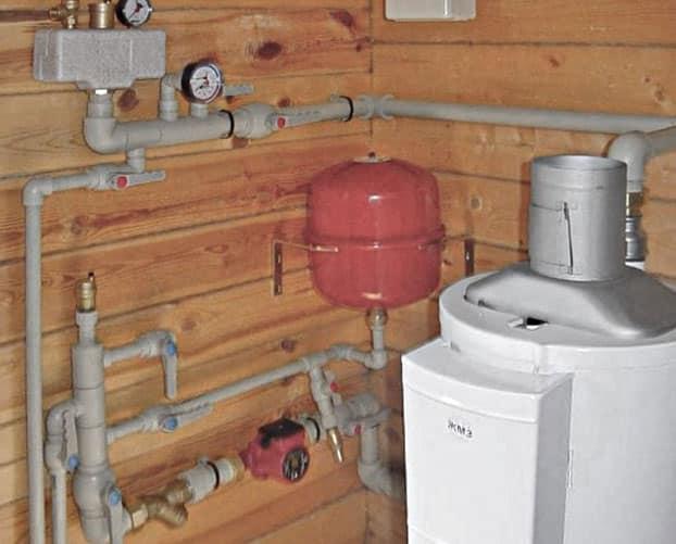 Как залить воду в открытую систему отопления