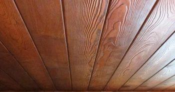 Имитация бруса на потолке: отделка с фото и видео, особенности, плюсы и минусы