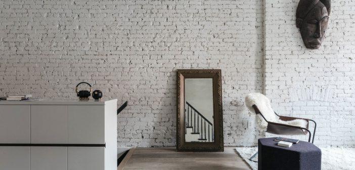 Как сделать стену в стиле Лофт: от кирпича до дерева