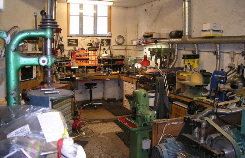 Обустройство мастерской своими руками | Вентиляция мастерской