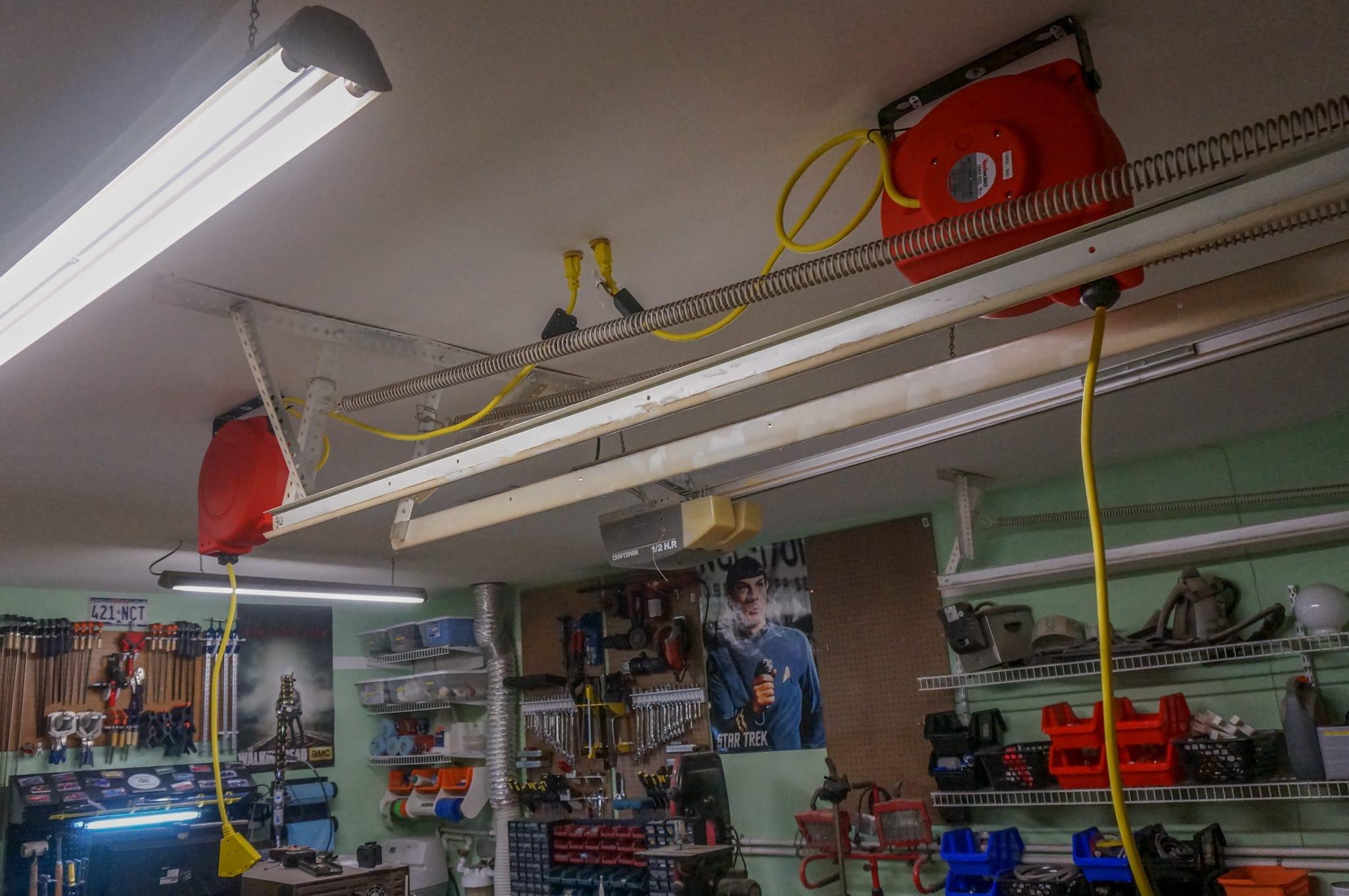 Обустройство мастерской своими руками | Электроснабжение в мастерской
