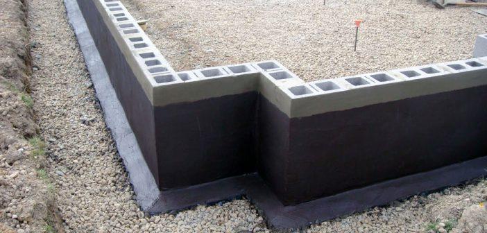 Гидроизоляция здания - виды и назначение