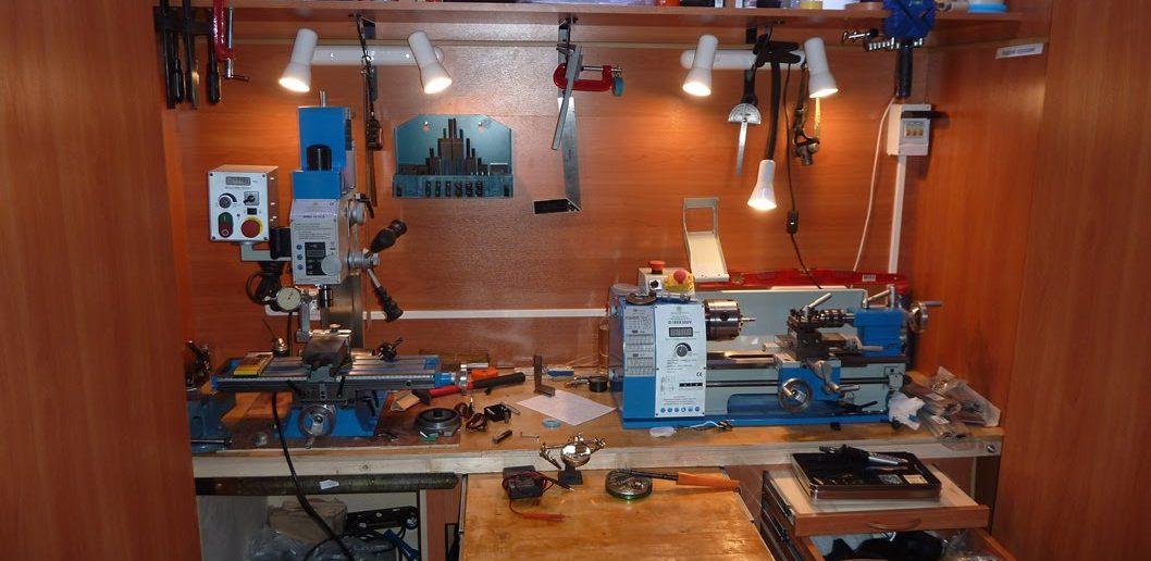 Обустройство мастерской своими руками | Освещение мастерской