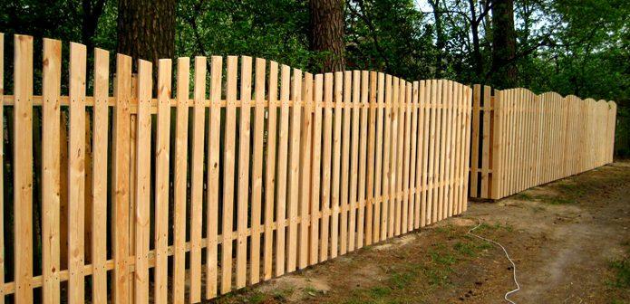Забор из профнастила своими руками | Виды заборов