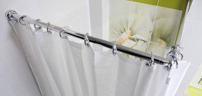 Штанга для шторы в ванную | Основное предназначение и особенности конструкции