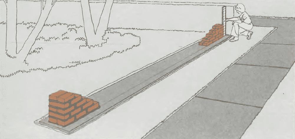 Кладка стен из кирпича | Кладка второго края кирпичей