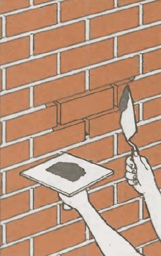 Ремонт кирпичной кладки | Ремонт швов кирпичной кладки