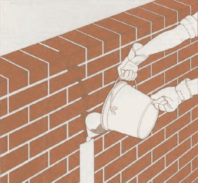 Ремонт кирпичной кладки | Ремонт большой трещины