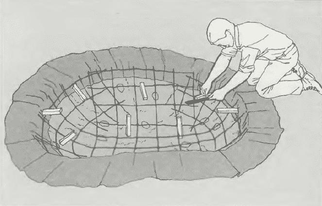 Как сделать пруд из бетона своими руками