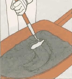 Дорожка из кирпича своими руками | Приготовление раствора