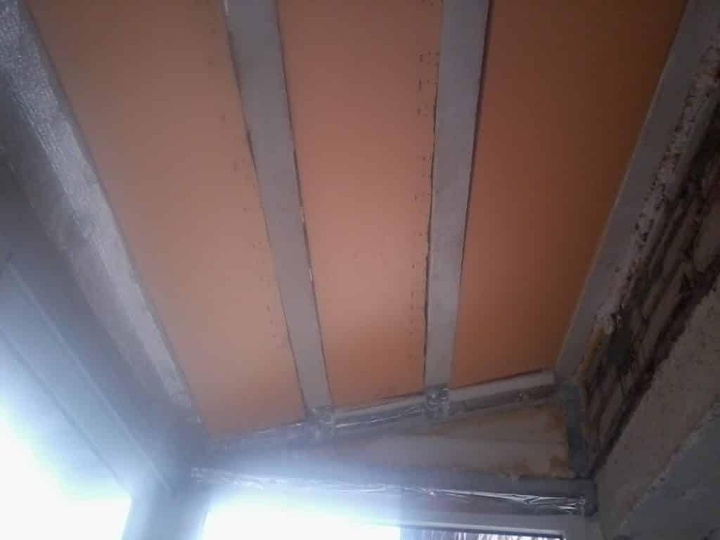 Как утеплить балкон своими руками | Как утеплить потолок на балконе