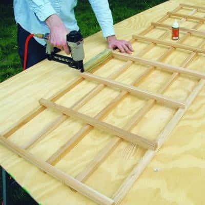 Как сделать шпалеру своими руками | Шпалеры из дерева