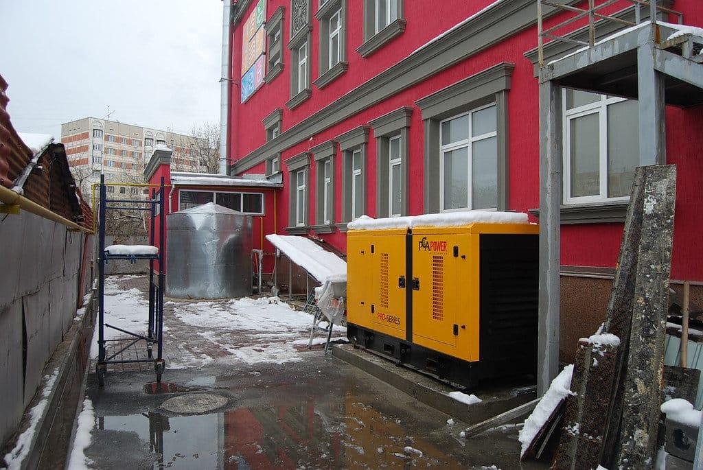 Дизель-генератор для здания | Дизельные и бензиновые генераторы, стабилизаторы напряжения