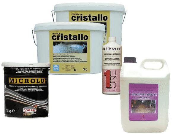 Расходные материалы для шлифовки пола | Кристаллизаторы для мрамора и гранита