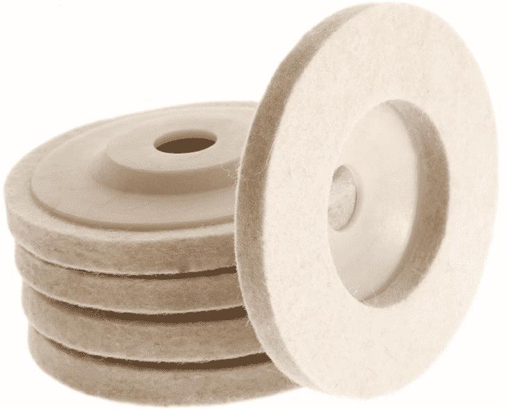 Расходные материалы для шлифовки пола | Белый войлочный пад