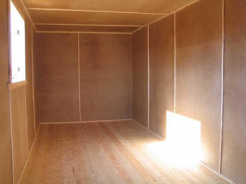 Деревянная обшивка стен | Обшивка стен ДВП плитами
