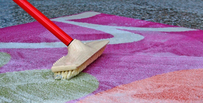 Нюансы чистки шерстяного ковролина | Натуральный ковролин из шерсти
